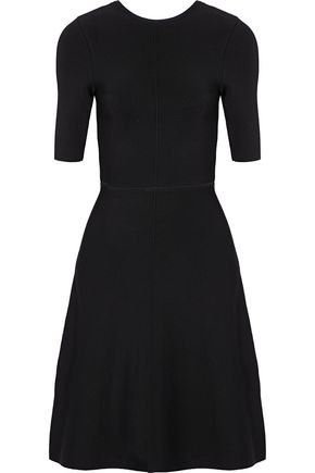 VICTORIA, VICTORIA BECKHAM Twist-back stretch-knit dress