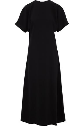 J.W.ANDERSON Gathered crepe maxi dress