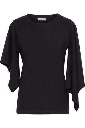 J.W.ANDERSON Draped cotton-jersey top