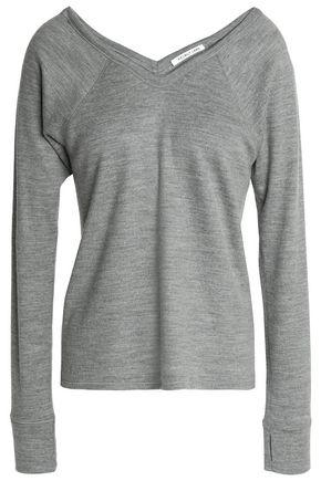 HELMUT LANG Mélange wool-blend T-shirt