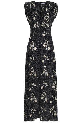 TOMAS MAIER Printed silk maxi dress