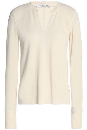 HELMUT LANG Textured-cotton top