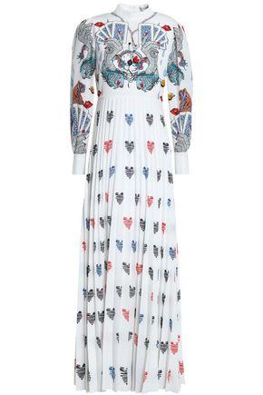 4630be84d637 Plissé printed crepe maxi dress | MARY KATRANTZOU | Sale up to 70 ...