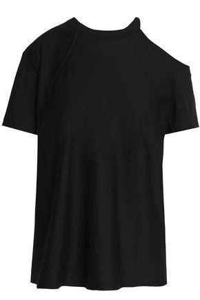 HELMUT LANG Cutout Pima cotton top