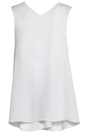 HELMUT LANG Knotted jacquard top