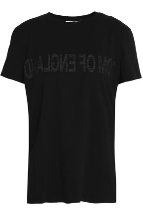 HELMUT LANG Printed cotton-jersey T-shirt