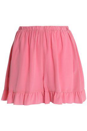 REDValentino Pleated cady shorts