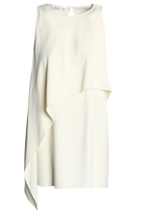 HELMUT LANG Draped crepe top