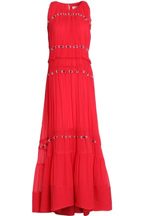 3.1 PHILLIP LIM Tiered crepe gown