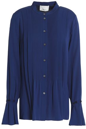 3.1 PHILLIP LIM Pintuked silk blouse