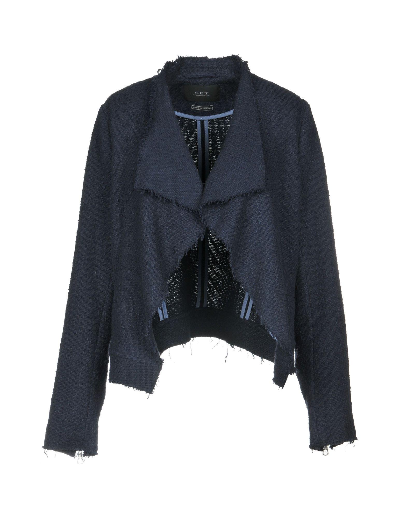 SET Blazer in Dark Blue