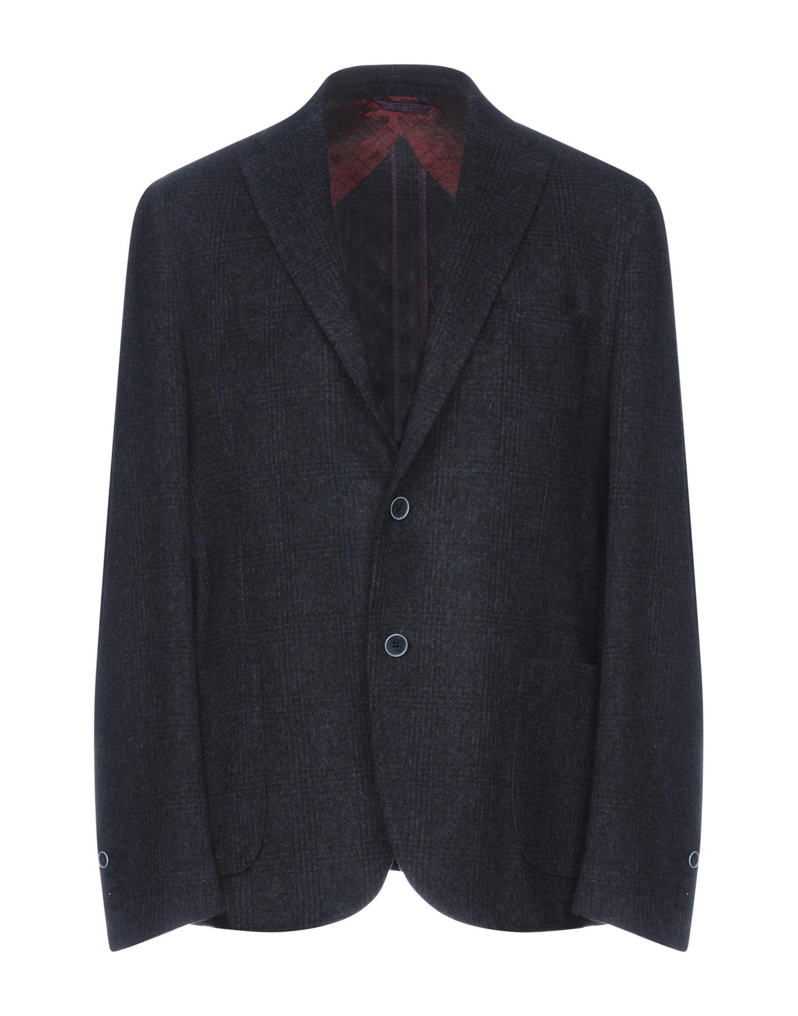 《送料無料》JERRY KEY メンズ テーラードジャケット 鉛色 56 ウール 65% / ポリエステル 30% / 指定外繊維 5%