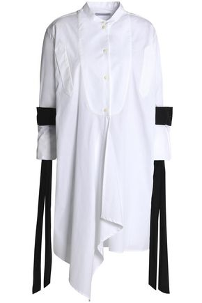 J.W.ANDERSON Ruffled cotton-poplin tunic