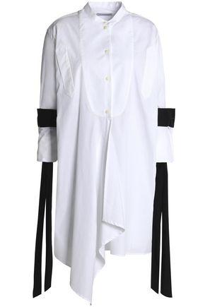 J.W.ANDERSON Ruffled cotton-poplin tunic