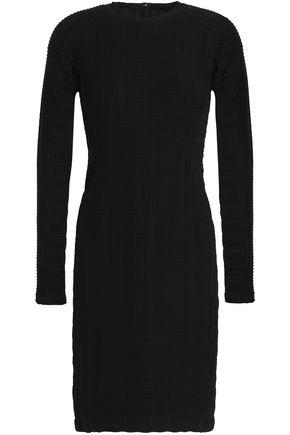 RAG & BONE Embossed stretch-jersey mini dress