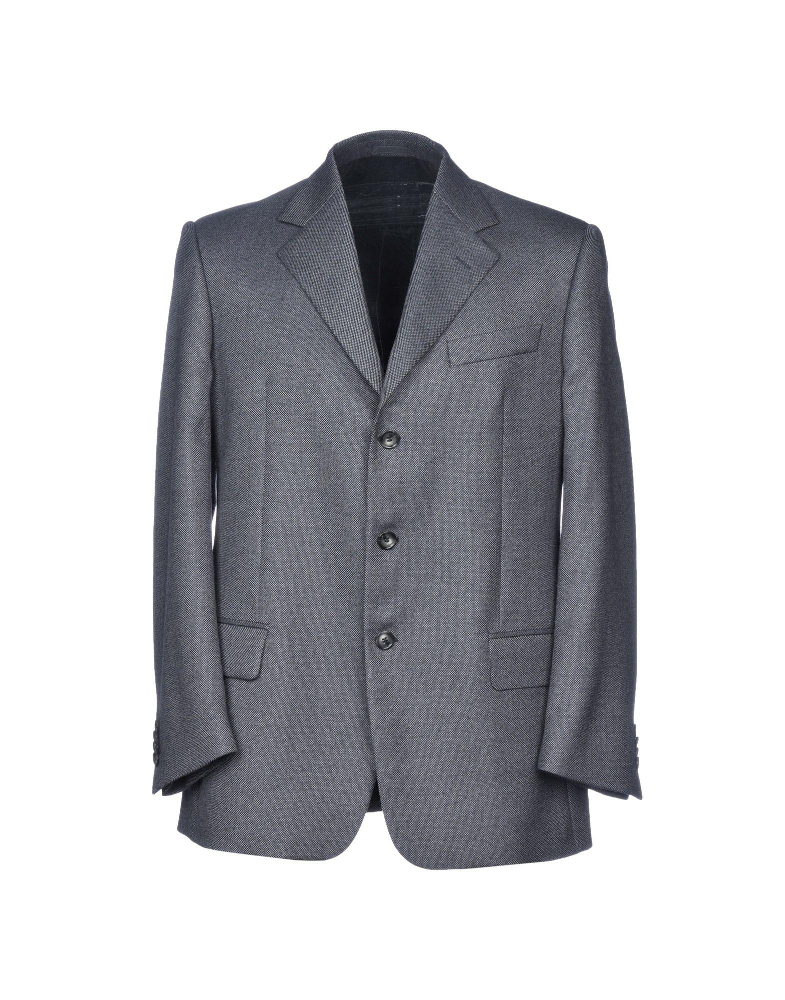 《期間限定セール開催中!》MR. RAMOS メンズ テーラードジャケット 鉛色 46 バージンウール 100%
