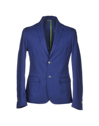 Фото - Мужской пиджак III ISSUED IN I синего цвета