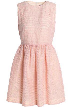 REDValentino Burnout georgette mini dress