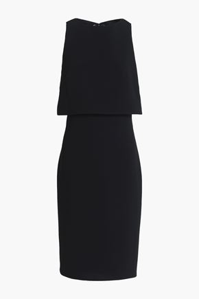 RAG & BONE Eliza layered cutout crepe dress