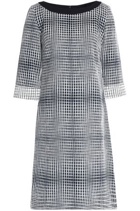 GOAT Madeleine checked jacquard dress