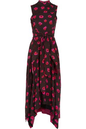 PROENZA SCHOULER Printed crepe midi dress