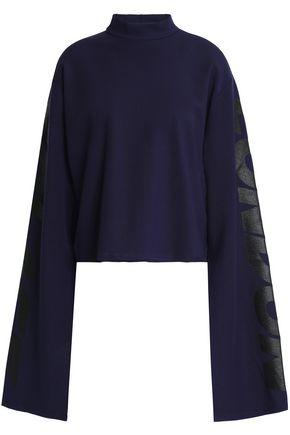 SOLACE LONDON Coated jersey sweatshirt