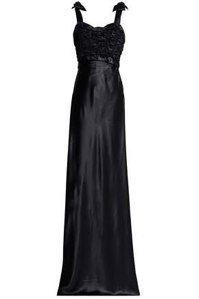 MAISON MARGIELA Shirred satin gown