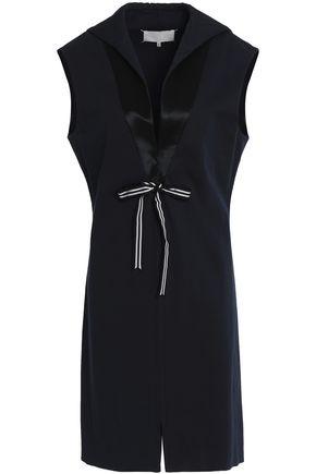 MAISON MARGIELA Sleeveless tie-front cotton-blend gabardine dress