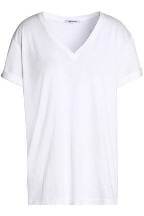T by ALEXANDER WANG Cotton-jersey T-shirt