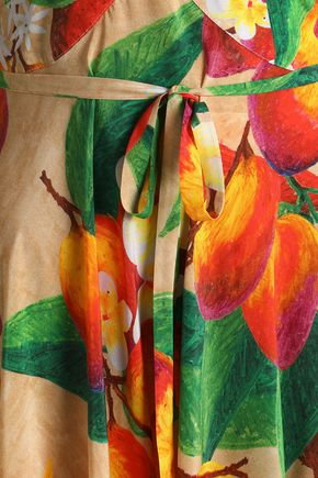 ISOLDA Carolina off-the-shoulder floral-print silk maxi dress