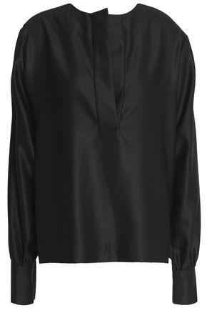 TOTÊME Revel satin-twill blouse