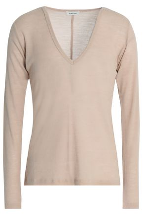 TOTÊME Agrinio ribbed wool-jersey top