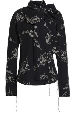 MARC JACOBS Floral-print woven top