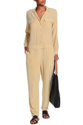 EQUIPMENT Silk-crepe de chine jumpsuit