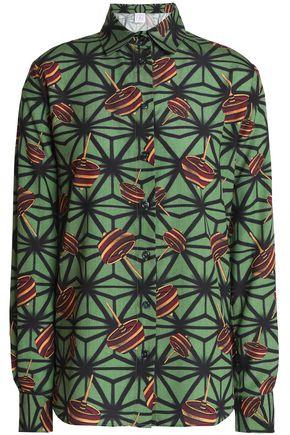 STELLA JEAN Printed crepe shirt