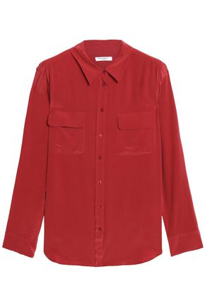 EQUIPMENT Silk-crepe de chine shirt