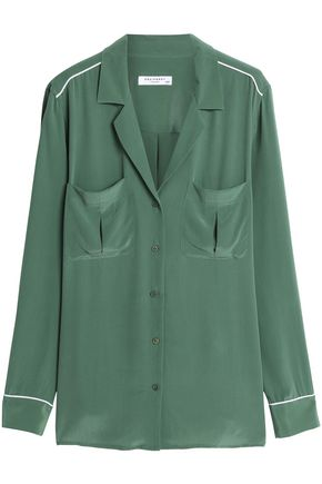 EQUIPMENT Sonny washed-silk shirt