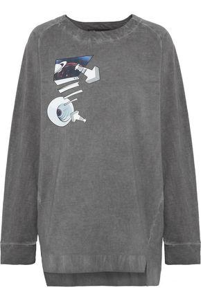 Y-3 + adidas X Planet printed cotton sweatshirt