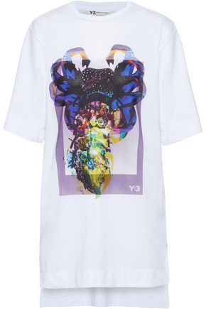Y-3 +adidas oversized printed jersey T-shirt