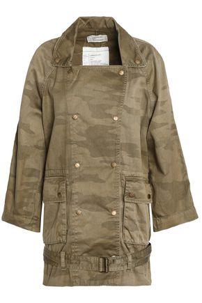 CURRENT/ELLIOTT Printed cotton-gabardine jacket