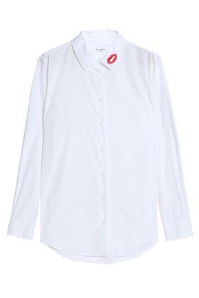 EQUIPMENT Printed cotton-poplin shirt