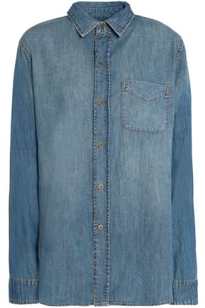 CURRENT/ELLIOTT Denim shirt
