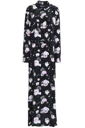 EQUIPMENT Floral-print silk-crepe de chine maxi dress