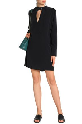 EQUIPMENT Cadence washed-silk mini shirt dress