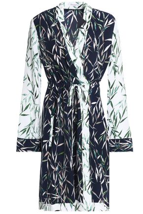 EQUIPMENT Printed washed-silk wrap dress