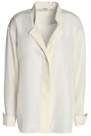 TOTÊME Kenya silk-habotai shirt