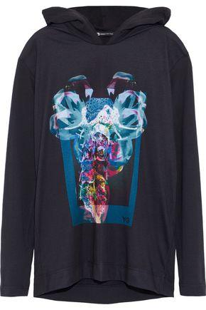 Y-3 + adidas X Alien printed jersey hoodie