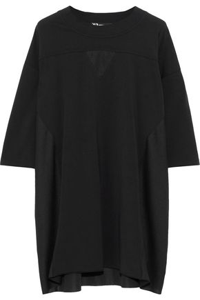 Y-3 +adidas Nomad oversized stretch-cotton jersey T-shirt