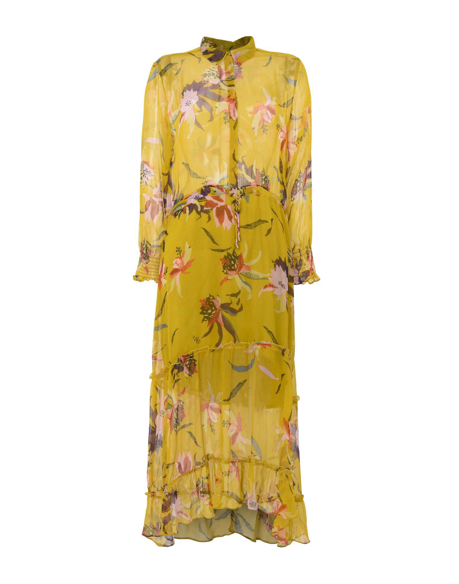 MBYM Midi Dress in Ocher