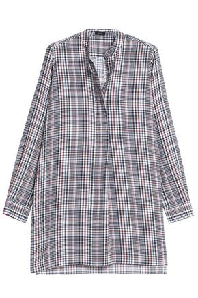 JOSEPH Prince of Wales checked silk tunic